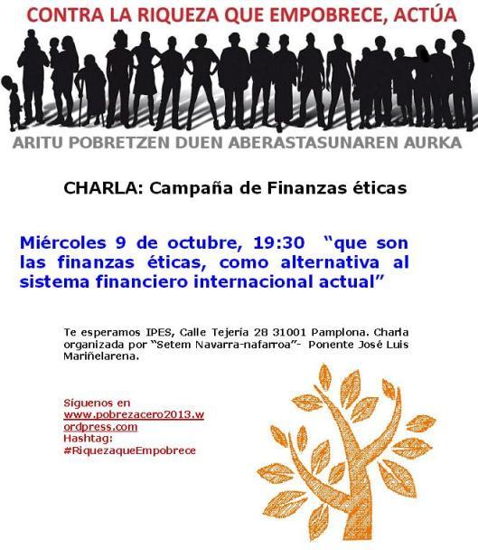 Charla Finanzas Eticas